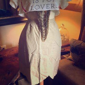 edme & esyllte Shimmer Skirt from Anthropologie